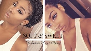 getlinkyoutube.com-Soft, Sweet & Romantic Valentine's Day Makeup