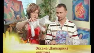 getlinkyoutube.com-ЦВЕТНЫЕ СЛОНИКИ ИЗ ЦЕЛЛОФАНА И ПАПЬЕ МАШЕ