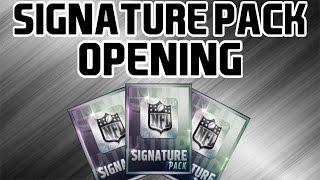getlinkyoutube.com-Signature Pack Opening! - Madden Mobile 16
