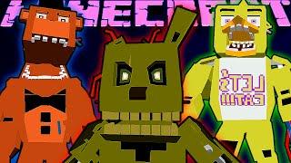 "getlinkyoutube.com-РЕАЛИСТИЧНЫЕ АНИМАТРОНИКИ В MINECRAFT! Обзор мода Minecraft #104 ""FNAF Realistic Models"""