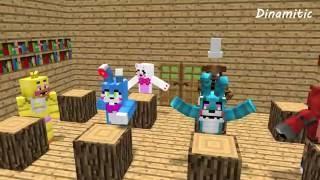 getlinkyoutube.com-FNAF Monster School: Girls vs Boys Baking Challenge - Minecraft Animation (Five Nights At Freddy's)