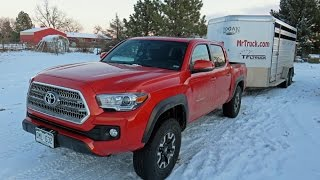 getlinkyoutube.com-Toyota Tacoma 2016 review, off-road, trailering, trail riding in the Rockies