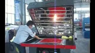 Acrylic theromforming vacuum forming machine BX 1400