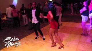 getlinkyoutube.com-Juan Matos Social Dancing at Salsa Mambo Fest 2014
