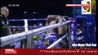 getlinkyoutube.com-Buakaw Banchamek vs Victor Nagbe 14th April 2014