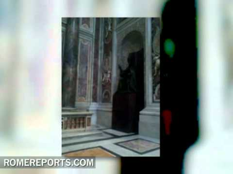 Images of the chapel that may house the body of John Paul II in St  Peter's Basilica