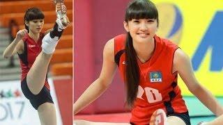 "getlinkyoutube.com-Sabina Altynbekova 17 Year Old ""Too Beautiful"" to Play Volleyball @Hodgetwins"