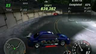 getlinkyoutube.com-NFS UnderGround 2 Drift world record !!!!!!!!!!!!!!!!!!!!!!!!