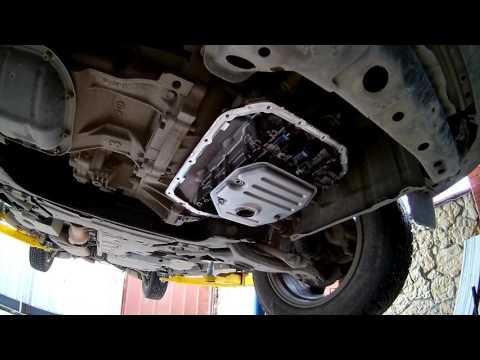 Замена масла в вариаторе на Тойота РАВ4 2011 года Toyota RAV4