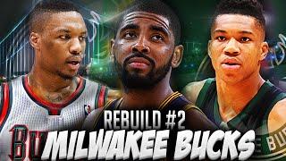 getlinkyoutube.com-NBA2K16 MyLEAGUE - Rebuilding the Milwaukee Bucks! DAMIAN LILLARD CRAZY GAME WINNER!!