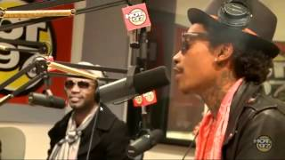 Wiz Khalifa and Chevy Woods Freestyle on Funkmaster Flex (Official Video)