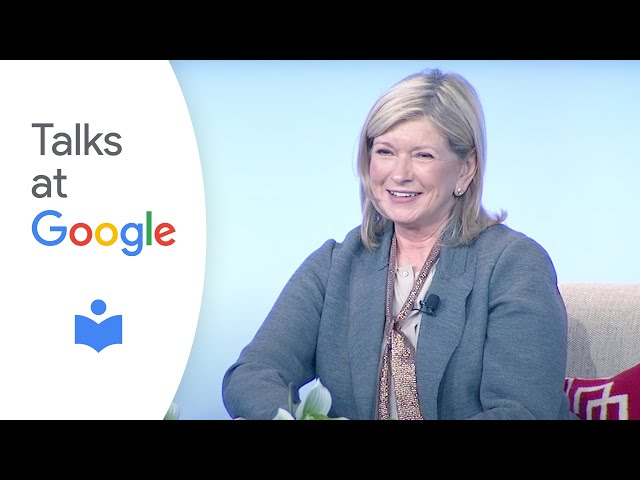 Martha Stewart shares secrets to her success