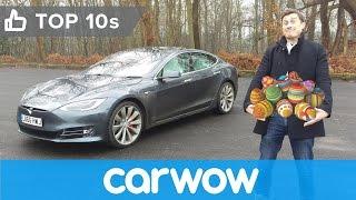 Tesla Model S Easter Eggs revealed   Top 10s