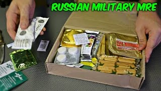 getlinkyoutube.com-Testing Russian Military MRE (Meal Ready to Eat)
