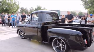 getlinkyoutube.com-Houston Coffee and Cars 4-18-15 Cool 57 Chevy Truck