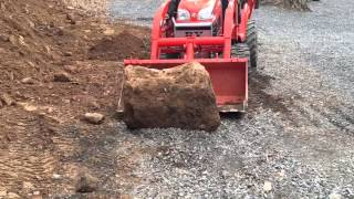 getlinkyoutube.com-Kubota BX Clearing Land