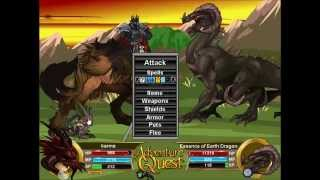 getlinkyoutube.com-Adventure Quest Fastest Ways To Level Up & Earn Gold For All Levels!