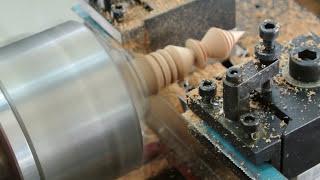 getlinkyoutube.com-เครื่องกลึง CNC ขนาดเล็ก กลึงไม้