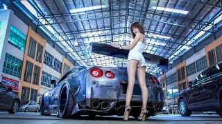 getlinkyoutube.com-Liberty Walk Nissan GTR R35 x Miko Wong