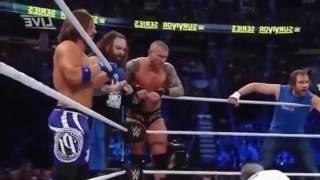 Team RAW VS Team SMACKDOWN- -Survivor Series (full match)