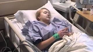 getlinkyoutube.com-Kjersti Has Surgery to Remove Metal Rod from Her Leg