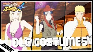 Naruto Ultimate Ninja Storm 4 - All DLC Costumes / Outfits | DLC Pack 3, DLC Pack 2 & DLC Pack 1 |