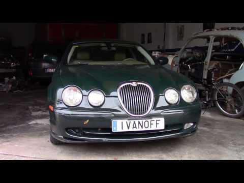 Ремонт автомобиля Jaguar S Type,