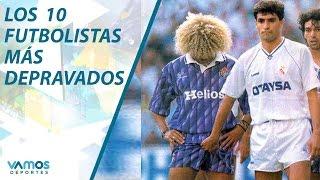 getlinkyoutube.com-Los 10 futbolistas más depravados  en Vamos al Chile
