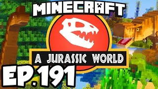 Jurassic World: Minecraft Modded Survival Ep.191 - NAMING A BUNCH OF DINOSAURS!! (Dinosaurs Mods)