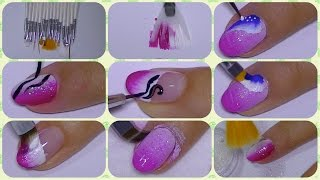 The Perfect Nail Art Set Of Brushes,dresslink com