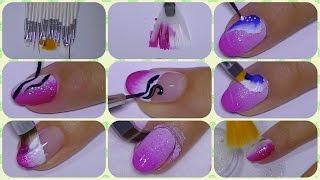 getlinkyoutube.com-The Perfect Nail Art Set Of Brushes,dresslink com