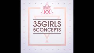 [PRODUCE 101 - 35 Girls 5 Concepts] 마카롱 꿀떡 (Macaroon Honey Dduk) - Yum-Yum (얌얌)