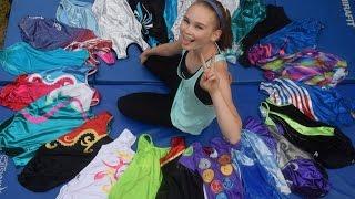 getlinkyoutube.com-Hannah's Gymnastics Leotard collection