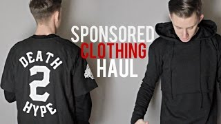 Sponsored Clothing Haul - CuratedATL, JonnyIV, 19th Letter, Hypland, and more!