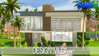 getlinkyoutube.com-The Sims 4 House Building - Design Villa - Speed Build
