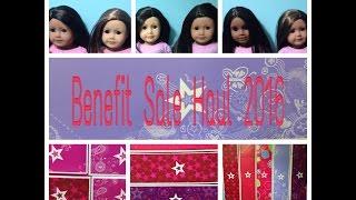 getlinkyoutube.com-Benefit Sale 2016 Haul American Girl Doll: $35 Truly Me Dolls!?!