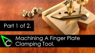 getlinkyoutube.com-Home Machine Shop Tool Making - Machining A Finger Plate Clamping Tool - Part 1