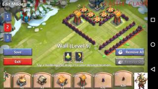 getlinkyoutube.com-Best level 11 town hall base design castle clash