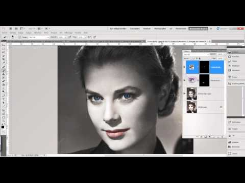Adobe Photoshop CS4/CS5 Colorisation d'une photo en noir et blanc