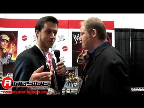 Toy Fair 2011: Mattel WWE Figure Rundown with Tom &amp; Tim Ash