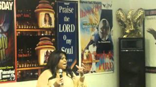 getlinkyoutube.com-Prophetic Faith Speaks* Prophetess Debra Brown