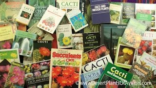 getlinkyoutube.com-My Cacti & Succulent Plant Book Collection