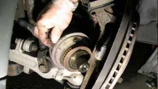 Changing CV axle boot Passat B5 (long version HD) part 1