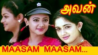 Tamil Movie   Avan [ Aparichithan ]   Movie Song   Maasam Maasam..