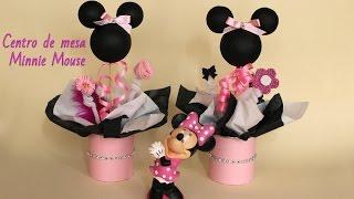 getlinkyoutube.com-Como hacer centros de mesa de Minnie Mouse