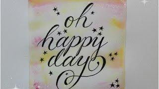 getlinkyoutube.com-how to write in cursive fancy ♥ oh happy day :)