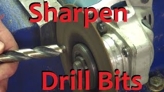 getlinkyoutube.com-Sharpen Drill Bits WITHOUT a Drill Doctor?!