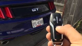 getlinkyoutube.com-2015 Mustang Keyless Features