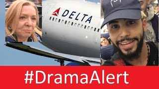 INTERVIEW: Passenger on Adam Saleh Delta Flight! #DramaAlert Adam Saleh Kicked Off Delta Flight!