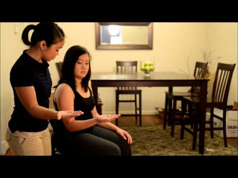 gravity eliminated positions for manual muscle testing